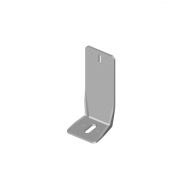 Úhelník s bočním prolisem 120x65x65