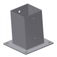 Kotvící botka čtvercová 80x80-150