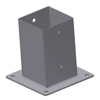 Kotvící botka čtvercová 50X50-125