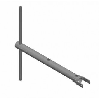 Klíč na zemní vrut (deska i sloupek) - BPU