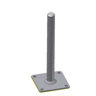 Kotevní patka pilíře M24 100x100-125