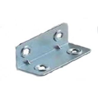 Úhelník nábytkový  ÚP4  40x40x90x2,0  zinek bílý